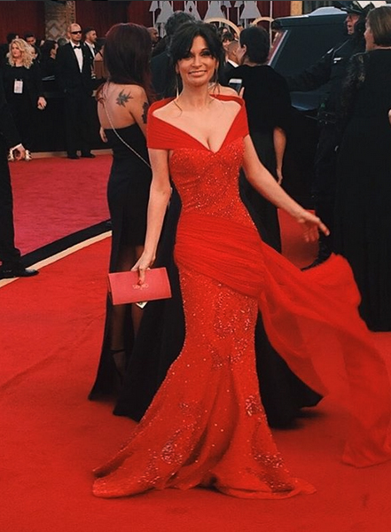 An Oscar dress Julia Haart